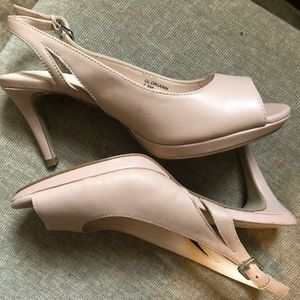 Nude Pumps size 7.5